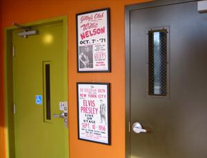Music Studios entrance